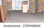 empty no people library... | Shutterstock .eps vector #1794438694