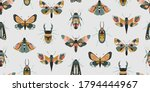 vector seamless pattern with... | Shutterstock .eps vector #1794444967