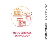 public service technology red... | Shutterstock .eps vector #1794449764