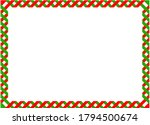 green and red diagonal... | Shutterstock . vector #1794500674