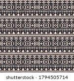 seamless african pattern.... | Shutterstock .eps vector #1794505714