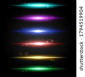 Neon Light Linear Effect....
