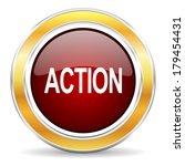 action icon | Shutterstock . vector #179454431