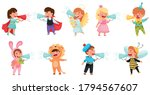 kid characters wearing fancy... | Shutterstock .eps vector #1794567607