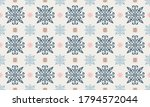 christmas drawing with... | Shutterstock .eps vector #1794572044