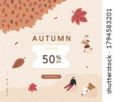 autumn shopping event... | Shutterstock .eps vector #1794583201