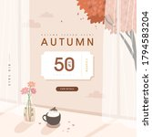 autumn shopping event... | Shutterstock .eps vector #1794583204