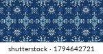 seamless floral pattern folk... | Shutterstock .eps vector #1794642721