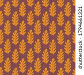 autumn seamless pattern with... | Shutterstock .eps vector #1794661321