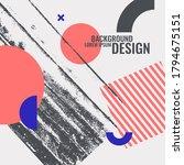 modern abstract art geometric... | Shutterstock .eps vector #1794675151