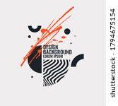 modern abstract art geometric... | Shutterstock .eps vector #1794675154