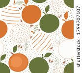 tropical seamless pattern with...   Shutterstock .eps vector #1794707107