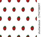 vector seamless pattern with... | Shutterstock .eps vector #1794738097