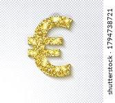 glittering golden icon  of the... | Shutterstock .eps vector #1794738721
