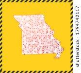 missouri closed   virus danger... | Shutterstock .eps vector #1794742117