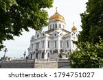 Moscow. Cathedral Of Christ The ...