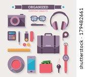 flat design style modern vector ... | Shutterstock .eps vector #179482661