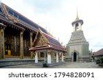 Belfry In Wat Phra Kaew  The...
