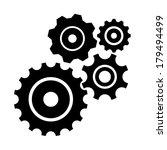 vector set isolated on white.... | Shutterstock .eps vector #179494499