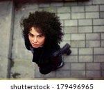 beautiful girl | Shutterstock . vector #179496965