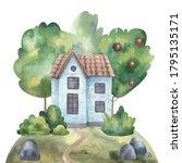 Illustration Landscape With...