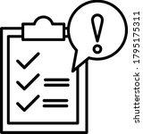 governance  risk icon. element... | Shutterstock .eps vector #1795175311