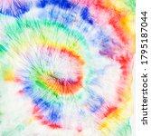 spiral art. multi swirl... | Shutterstock . vector #1795187044