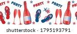 party flip flop shoe vector... | Shutterstock .eps vector #1795193791