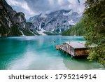 Famous Lake Lago Di Braies...