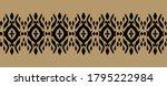 lace border. ikat seamless... | Shutterstock .eps vector #1795222984