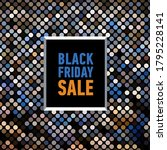 black friday sale banner on... | Shutterstock . vector #1795228141