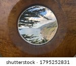 Looking Through A Wooden Hole...