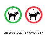 rule for dogs  dog in a muzzle...