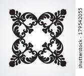vector baroque ornament in... | Shutterstock .eps vector #179542055