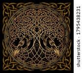 celtic sacred symbols  ... | Shutterstock .eps vector #1795438231