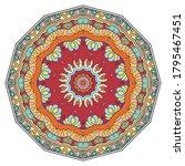 mandala flower decoration  hand ...   Shutterstock .eps vector #1795467451