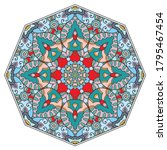 mandala flower decoration  hand ...   Shutterstock .eps vector #1795467454