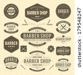 Barber Shop Vintage Retro...