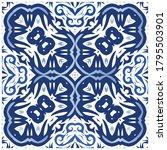 ceramic tiles azulejo portugal. ...   Shutterstock .eps vector #1795503901