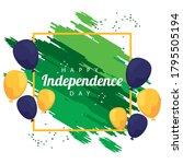 brazil happy independece day...   Shutterstock .eps vector #1795505194