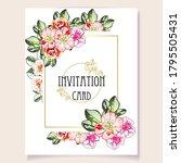 vintage delicate greeting...   Shutterstock .eps vector #1795505431