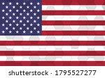 usa flag illustration.... | Shutterstock .eps vector #1795527277