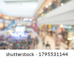 abstract blur people in... | Shutterstock . vector #1795531144