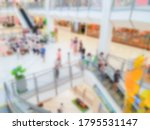 abstract blur people in... | Shutterstock . vector #1795531147