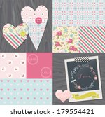 wedding   love   romance ...   Shutterstock .eps vector #179554421
