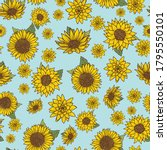 Seamless Pattern With Vintage...