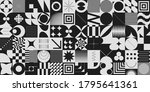 simple geometric abstract... | Shutterstock .eps vector #1795641361