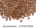 papua new guinea roasted coffee ... | Shutterstock . vector #1795675234