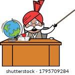 Cartoon Haryanvi Old Man As...