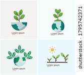 icon set  growth icon  plant ...   Shutterstock .eps vector #1795742371